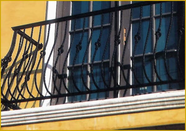 Ornamental Wrought Iron Balcony - Bakersfield, CA