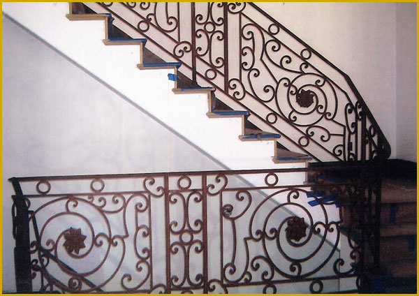 Ornamental Wrought Iron Railing- Bakersfield, CA