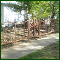 Wrought Iron Fence Bakersfield